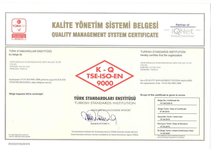 TSE-ISO-EN 9000